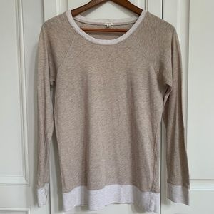 J crew sweater long sleeved t shirt
